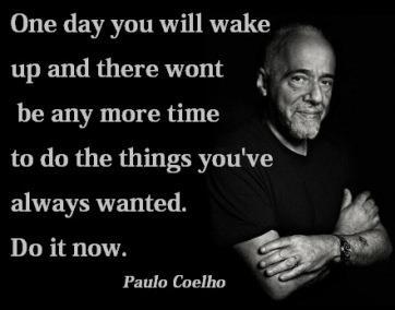 Blog 1 Paulo Coelho Spruch