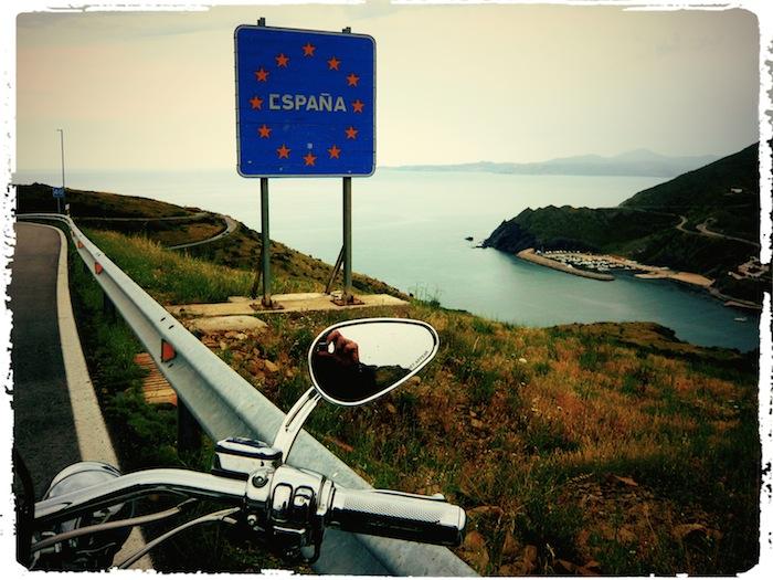 Grenze Spanien