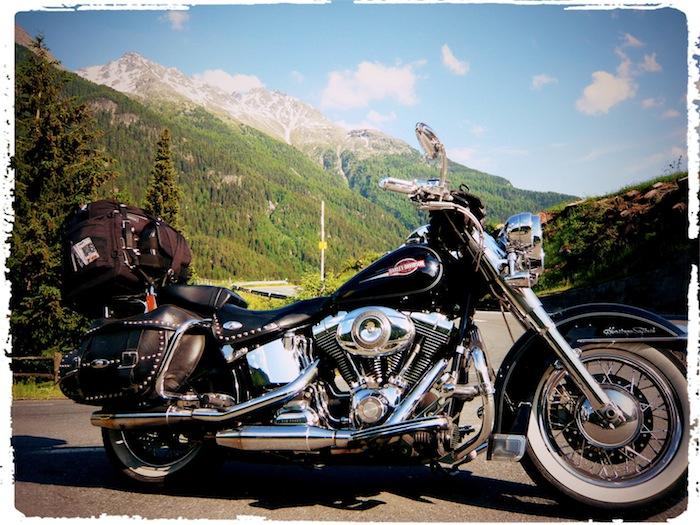 Moped Passstraße